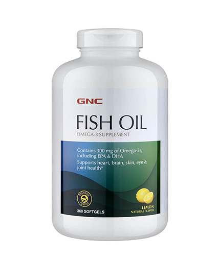 GNC Fish Oil 1000 mg. / 360 Softgels