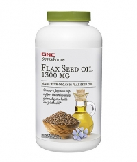 GNC Natural Brand Flax Seed Oil 1300 mg. / 180 Softgels
