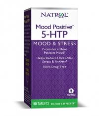 NATROL 5-HTP Mood Positive 50 Tabs.