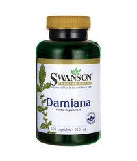 SWANSON Damiana Leaves 510mg. / 100 Caps.