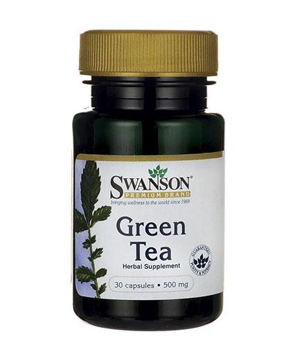 SWANSON Green Tea 500mg. / 30 Caps.