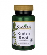 SWANSON Kudzu Root 500mg. / 60 Caps.