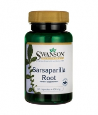 SWANSON Sarsaparilla Root 450mg. / 60 Caps.