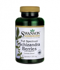 SWANSON Full Spectrum Schizandra Berries 525mg. / 90 Caps.