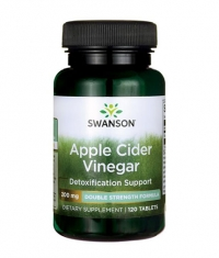 SWANSON Apple Cider Vinegar 200mg. / 120 Tabs.