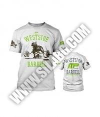 MUSCLE PHARM Westside Barbell S/S /White/