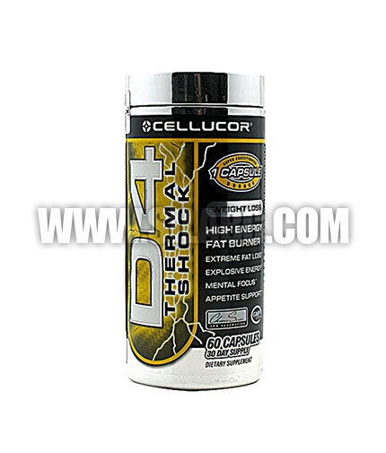 CELLUCOR D4 Thermal Shock 60 Caps.