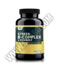 OPTIMUM NUTRITION Stress B-Complex + Vitamin C / 120 Caps.