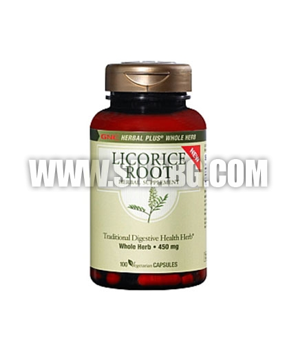 GNC Herbal Plus Licorice Root 100 Vcaps.