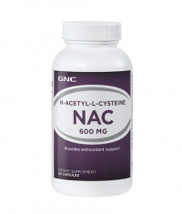 GNC NAC 600mg. / 60 Caps.