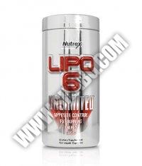 NUTREX Lipo 6 Unlimited 120 Caps.