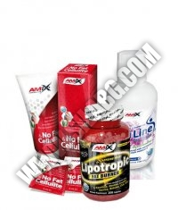 PROMO STACK Amix No Fat & Cellulite Gel 200ml. + Amix Lipotropic *** 200 Caps. + Amix CarniLine Proactive 480ml