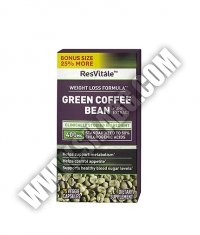 GNC ResVitále™ Green Coffee Bean Extract 400mg. / 75 Vcaps.