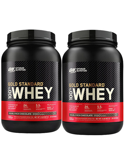 PROMO STACK ON 100% Whey Gold Standard 2 Lbs. / x2