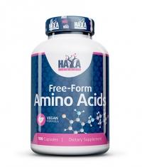HAYA LABS Free Form Amino Acids / 100 Caps.