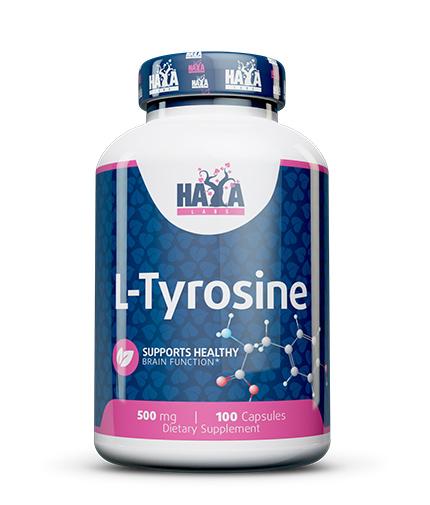 HAYA LABS L-Tyrosine 500mg. / 100 Caps.