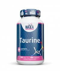 HAYA LABS Taurine 500mg. / 100 Caps.