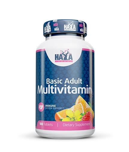 HAYA LABS Basic Adult Multivitamin 100 Tabs.