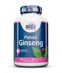 HAYA LABS Panax Ginseng 200mg. / 120 caps.