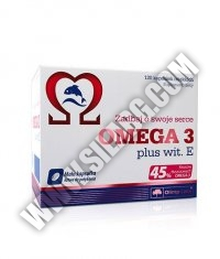 OLIMP Omega 3 plus Vitamin E 500mg. / 120 Caps.