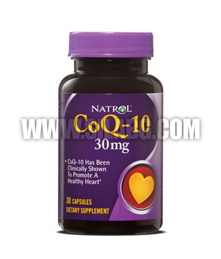 NATROL CoQ-10 / 30mg. / 30 Caps.