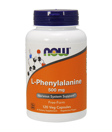 NOW L-Phenylalanine 500mg. / 120 Caps.