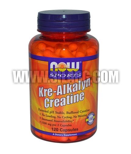 NOW Kre-Alkalyn ® Creatine 120 Caps.
