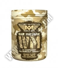 SCITEC Muscle Army War Machine 350g.