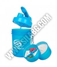SMART SHAKE Neon Blue 600ml