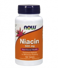 NOW Niacin 500mg / 100 Tabs.