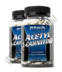 PROMO STACK DYMATIZE Acetyl L-Carnitine 90 Caps./ x2