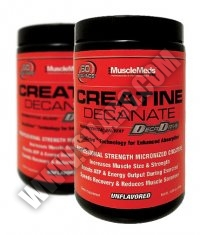 PROMO STACK Musclemeds Creatine Decanate 300g. / x2