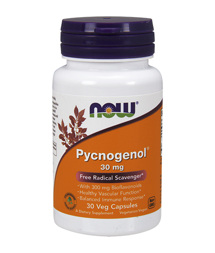NOW Pycnogenol 30mg / 30 Caps.
