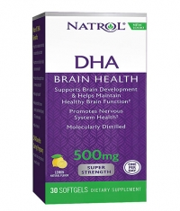 NATROL DHA 500mg Super Strength 30 Softgels