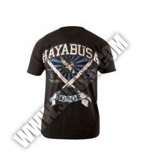 HAYABUSA FIGHTWEAR Samurai S/S /Black-Blue/