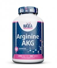 HAYA LABS Arginine AKG 1000mg / 100 Tabs.