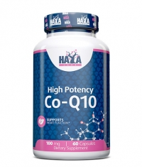 HAYA LABS High Potency Co-Q10 100mg. / 60vcaps.