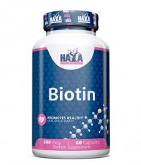 HAYA LABS Biotin 500mcg. / 60 Caps.