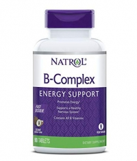 NATROL B-Complex Energy Support /Fast Disolve/ 90 Tabs.