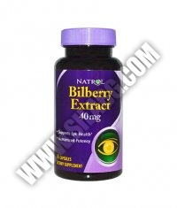 NATROL Bilberry Extract 40mg. / 60 Caps.