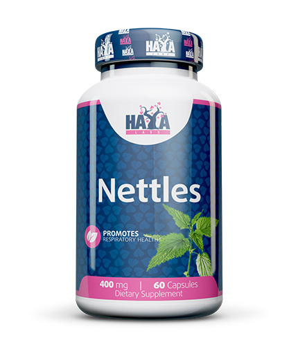 HAYA LABS Nettles 400mg. / 60 Caps.