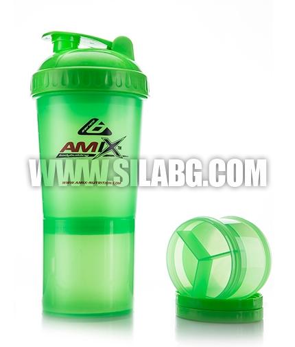 AMIX Shaker Monster Bottle /Green/