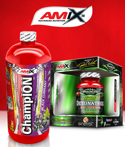PROMO STACK Amix Detonatrol / Amix ChampiON