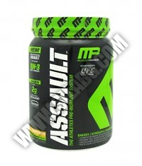 MUSCLE PHARM Assault 50 Serv. /NEW/