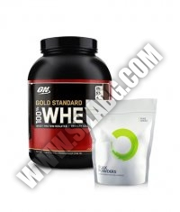 PROMO STACK ON 100% Whey Gold Standard / Bulk Powders Creapure