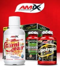 PROMO STACK Amix Detonatrol / Amix CarniLean / Amix Lipotropic ***