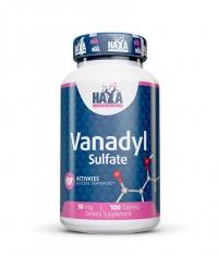 HAYA LABS Vanadyl Sulfate 10mg / 100 Tabs.