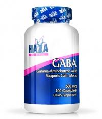 HAYA LABS Gaba 500 mg / 100 Caps.