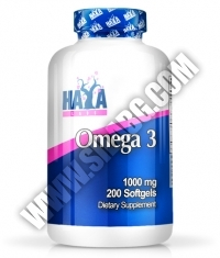 HAYA LABS Omega 3 1000mg. / 200 Softgels