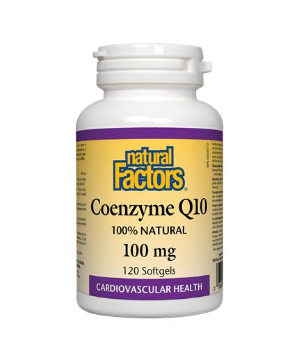 NATURAL FACTORS Coenzyme Q10 100mg / 60soft.